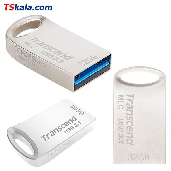 تصویر فلش مموری ترنسند Transcend JetFlash 710S USB3.0 32GB