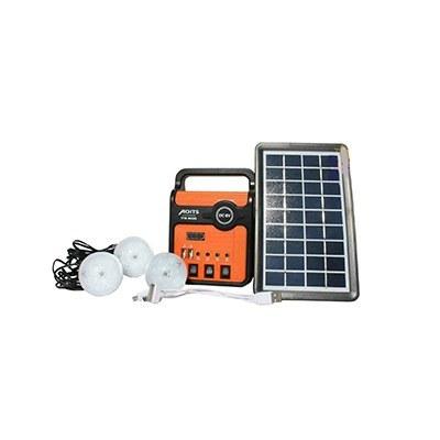 تصویر پکیج خورشیدی 3 وات دارای باتری 4 آمپر ساعت برند AOITS