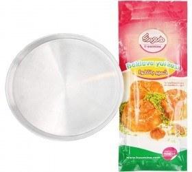 تصویر پک مخصوص خمیر باقلوا هومینا و قالب پخت باقلوا سایز 26