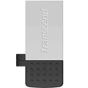 تصویر فلش مموري OTG ترنسند مدل JetFlash 380S ظرفيت 64 گيگابايت Transcend JetFlash 380S OTG Flash Memory - 64GB