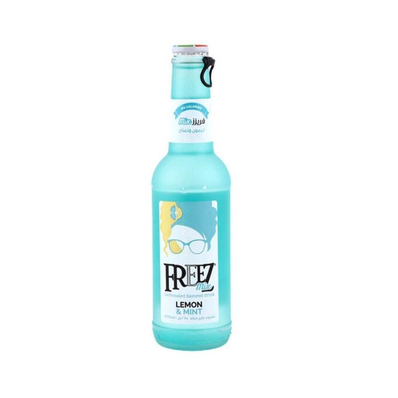 تصویر نوشیدنی گازدار لیمو نعناع فریز 275 میلی لیتر