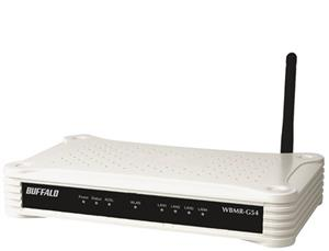 main images مودم روتر بی سیم بوفالو مدل WBMR-G54 BUFFALO WBMR-G54 ADSL 2+ Wireless Router