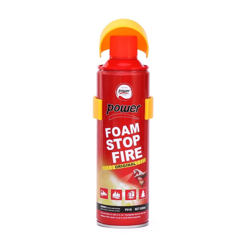 اسپری فوم آتش خاموش کن 500 میلی لیتر پاور |