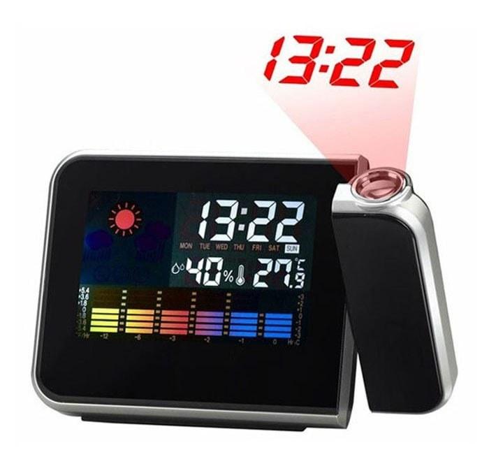 تصویر ساعت دیجیتال پروژکتوری رومیزی مدل DS-8190