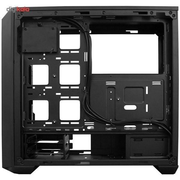 تصویر کیس کولرمستر مدل مستر باکس 5 وایت کیس Case کولر مستر MasterBox 5 White with DarkMirror Front Panel Mid Tower Case