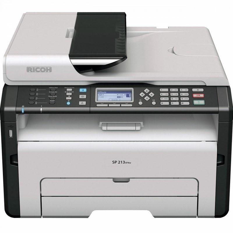 تصویر پرینتر چندکاره لیزری ریکو مدل SP 213SFNw Ricoh SP 213SFNw Multifunctional Laser Printer