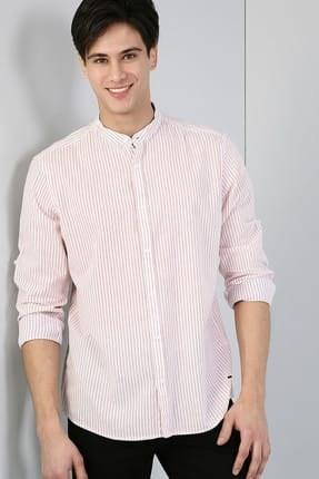 عکس پیراهن مردانه صورتی  پیراهن-مردانه-صورتی