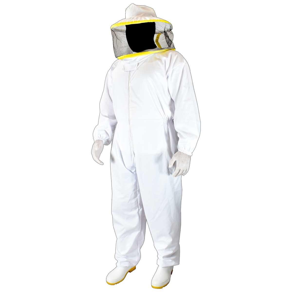 تصویر سرهمی زنبورداری کلاه گرد