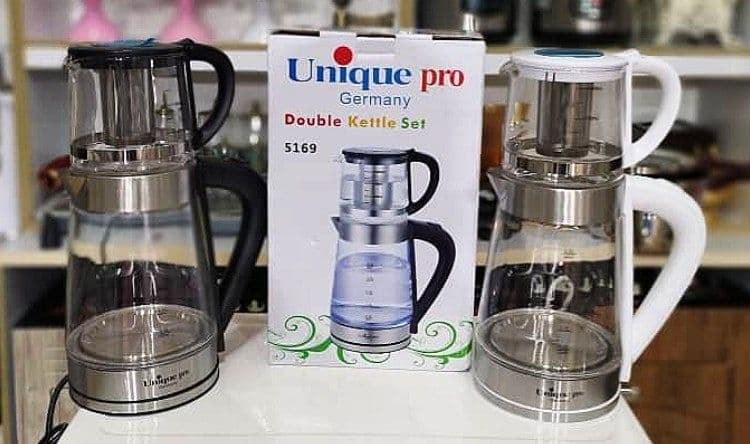 تصویر چای ساز روهمی Unique مدل 5169 (ارسال رایگان)