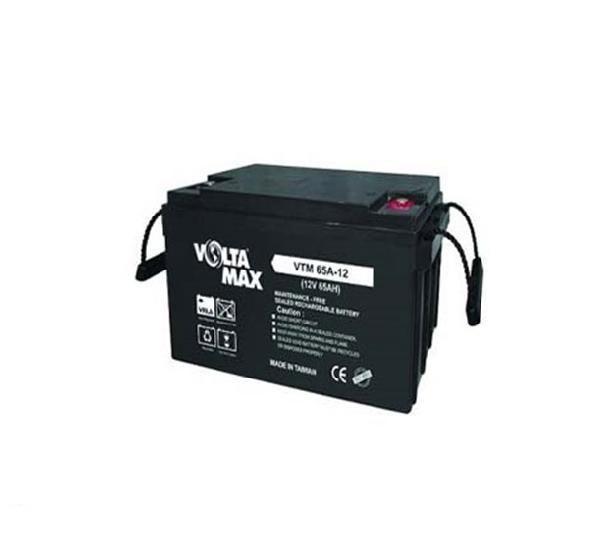 باتری سیلد اسید ولتامکس ۱۲V 65Ah Volta max VTM-12v 65A VRLA Battery |