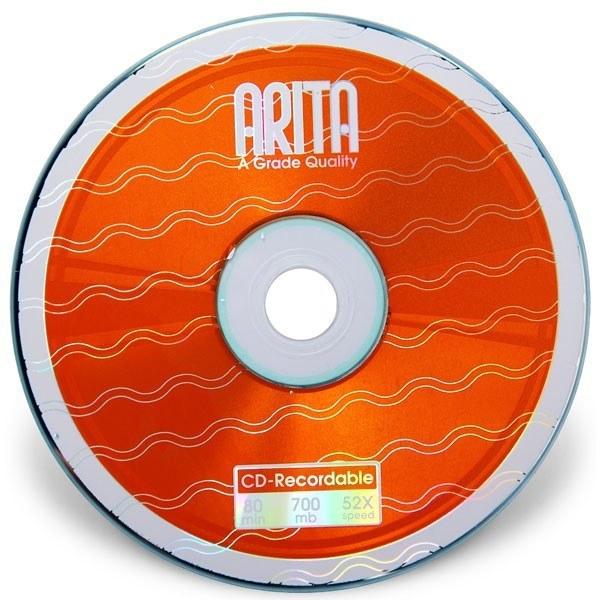 سی دی خام آریتا شرینک 50 عددی