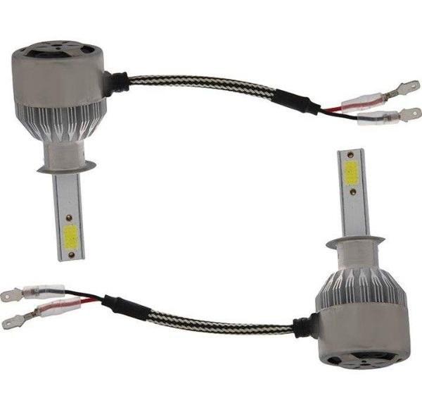 تصویر لامپ هدلایت خودرو مدل C6 H1 بسته دو عددی