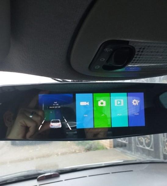 آینه مانیتور دار خودرو کلارو مدل ۷۵۹-CL با صفحه نمایش حرارتی