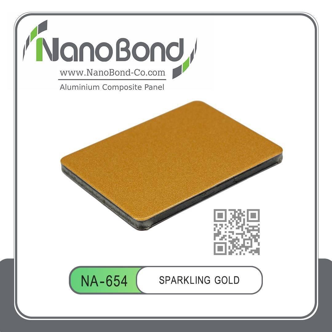 تصویر کد 654 های گلاس NANO طلایی