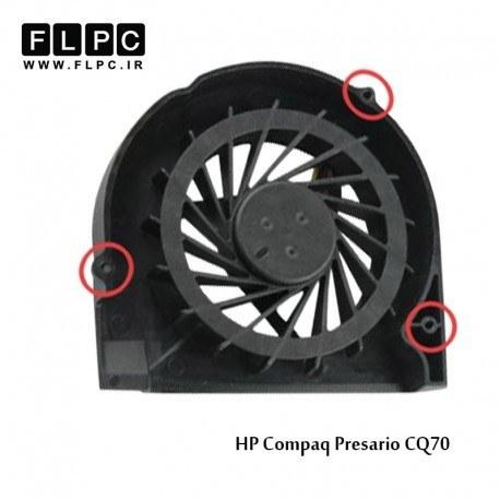 تصویر فن لپ تاپ اچ پی HP Compaq Presario CQ70 Laptop CPU Fan