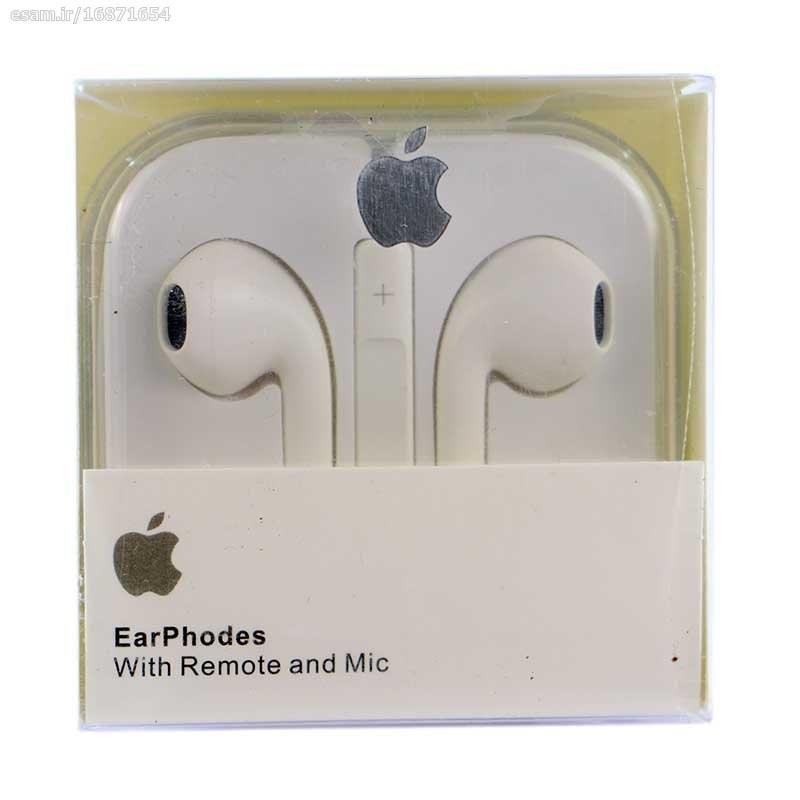عکس هندزفری آیفون Apple Ear Phodes  هندزفری-ایفون-apple-ear-phodes