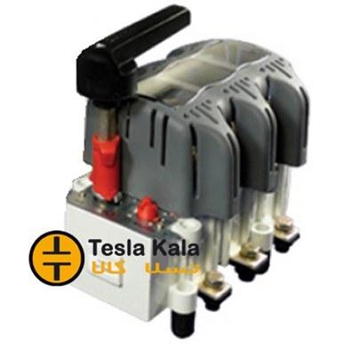 تصویر کلید فیوز گردان قابل قطع زیر بار 400 آمپر زاویر دسته معمولی مدل ZTF01
