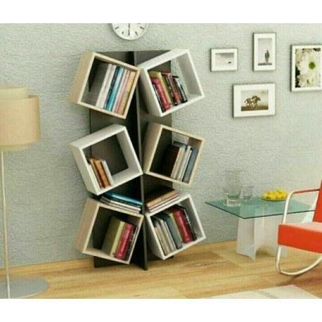کتابخانه دکوری آنتیک  