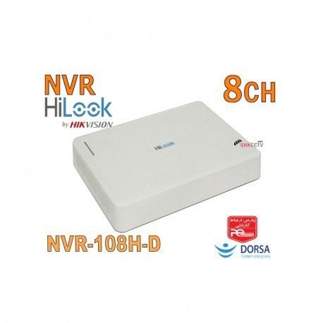 تصویر دستگاه ضبط تصاویر 8 کانال هایلوک hilook NVR-108H-D