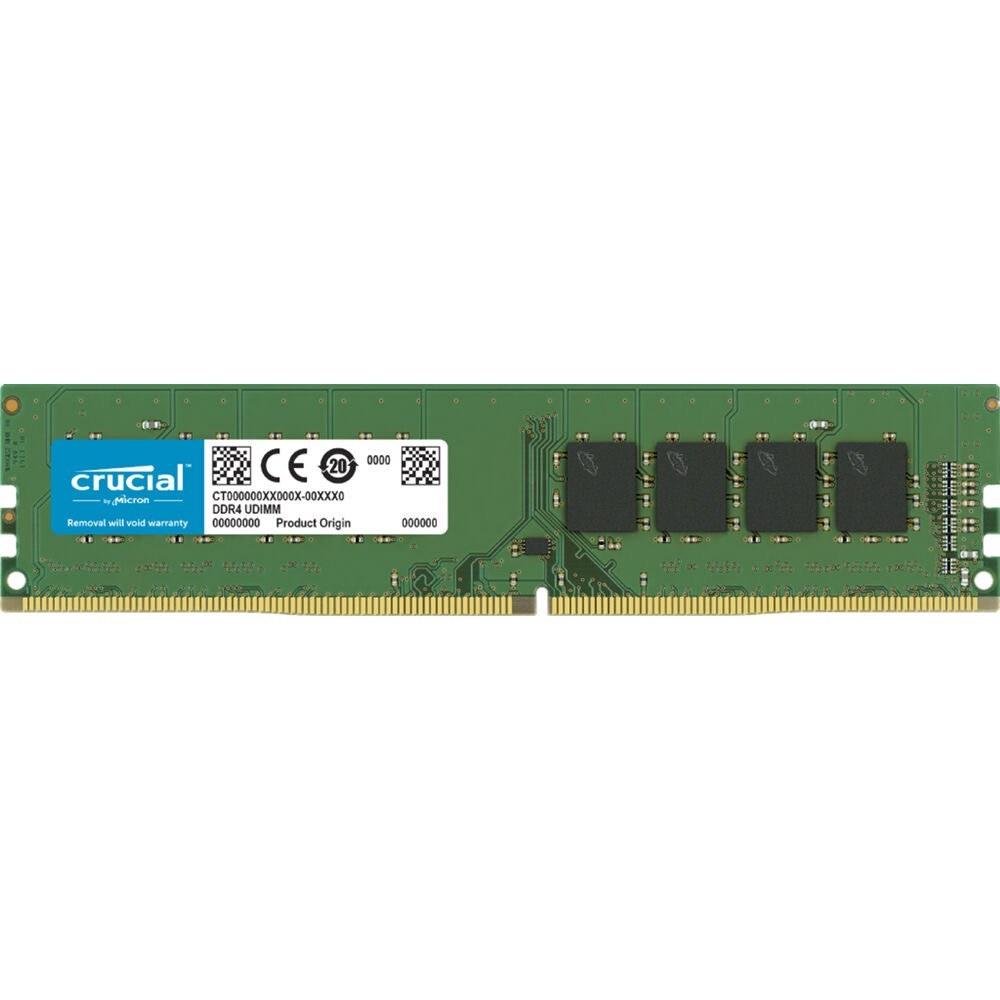 تصویر رم کروشیال 8 گیگ DDR4 باس 2666 Crucial DDR4 2666 SINGLE CHANNEL 8GB