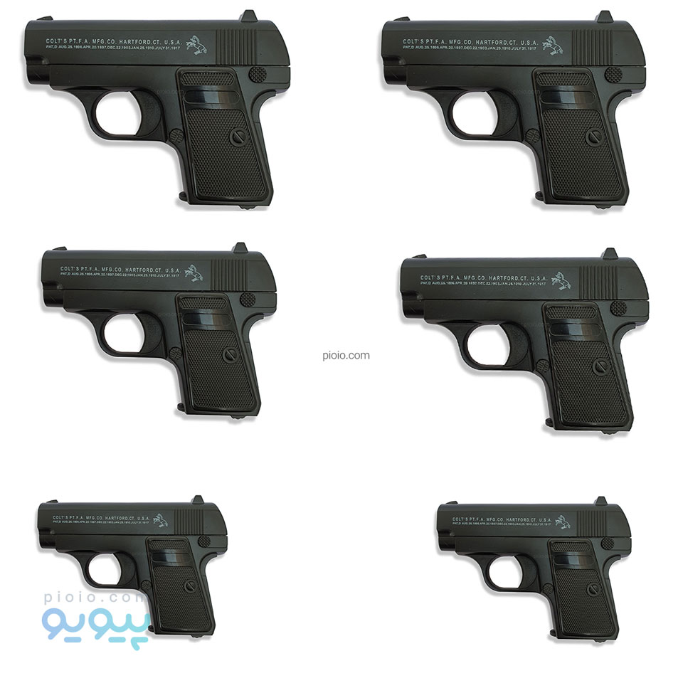 تصویر تفنگ ساچمه ای فلزی مدل کلت سی11 بسته 6 عددی