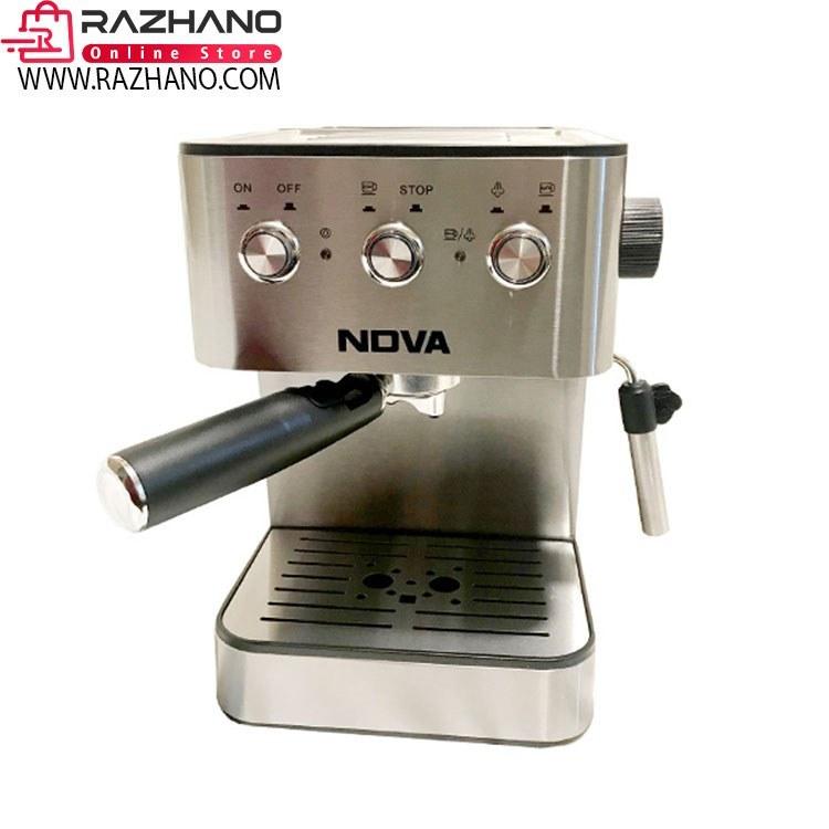 تصویر اسپرسو ساز و قهوه ساز نوا مدل SCM-0313