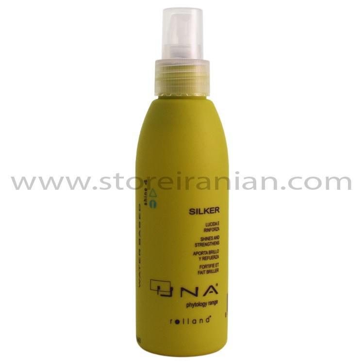 تصویر سرم مو تقویت کننده و ضدموخوره سیلکر اونا جنیوس Genuis Una Silker Strengthening Hair Serum