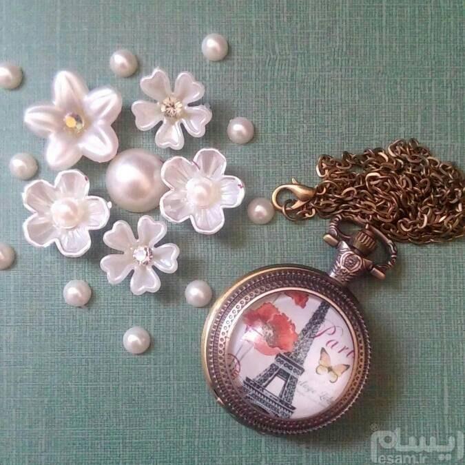 ساعت جیبی | ساعت جیبی یا ساعت گردنبندی زنانه