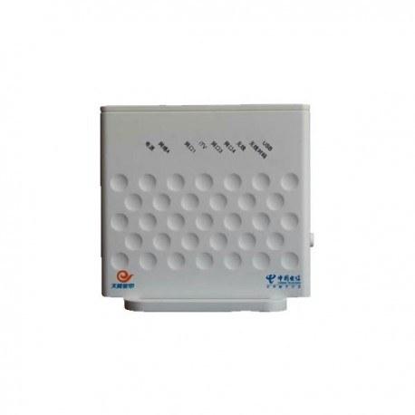 تصویر مودم روتر بی سیم چهار پورت ADSL زد تی ای مدل ZXV10 H108L