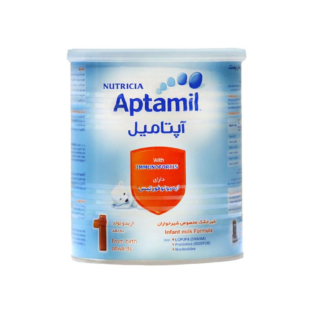تصویر شیرخشک آپتامیل ۱ ( مخصوص شیرخواران ۰ تا ۶ ماه ۴۰۰ گرم)