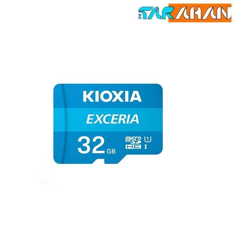 تصویر Kioxia Exceria 32GB UHS-I Class 10 100MBps microSDHC کارت حافظه microSDHC کیوکسیا مدل Exceria  کلاس 10 استاندارد UHS-I سرعت 100MBps ظرفیت 32 گیگابایت