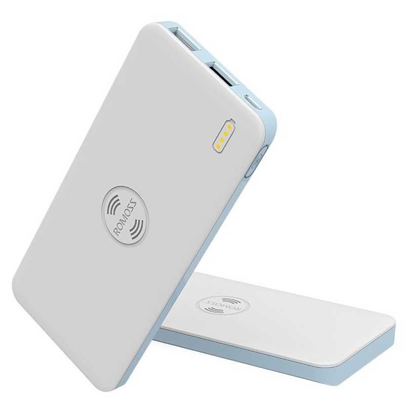 تصویر پاوربانک وایرلس Romoss WS05 Wireless Power Bank 5000mAh