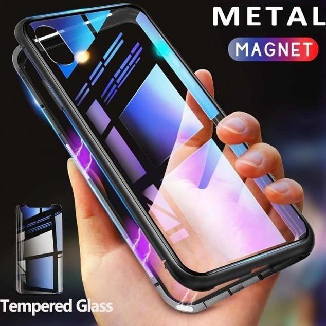 قاب مگنتی شیشه ای سامسونگ Magnet Bumper Case Samsung Galaxy A10s | Magnet Bumper Case Samsung Galaxy A10s