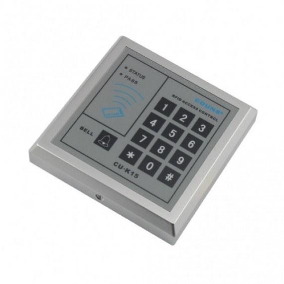 دستگاه کنترل تردد با قابلیت خواندن کارت RFID ( فرکانس 13.56MHz ) مدل CU-K15-IC10