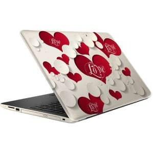 استیکر لپ تاپ طرح قلب و عشق مدل ML099  مناسب برای لپ تاپ 15.6 اینچ |