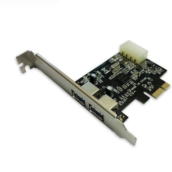 main images کارت دو پورت USB3.0 PCI-E ویپرو