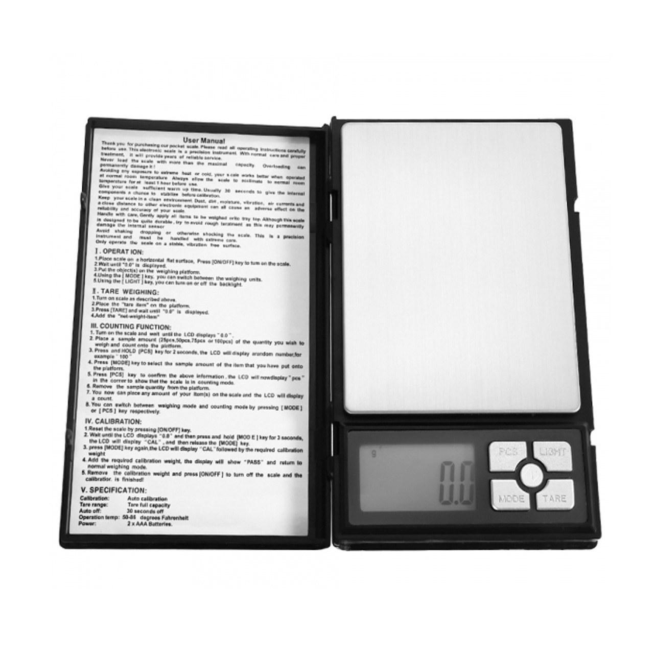 تصویر ترازو دیجیتال 2000 گرمی سری نوت بوک Digital Scale