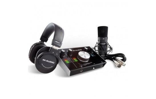 پکیج استودیویی M-AUDIO M-TRACK 2X2 VOCAL STUDIO PRO