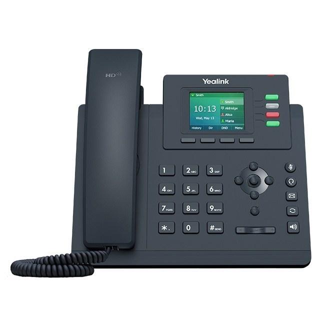 تصویر تلفن تحت شبکه رومیزی یالینک مدل SIP-T33P
