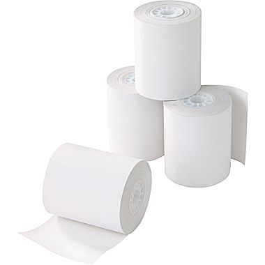 تصویر رول کاغذ حرارتی فیش پرینتر 80 میلیمتر 40 متری (چاپ مشکی)