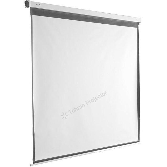 تصویر پرده نمایش پروژکتور اسکوپ دستی 150×200  wall 4:3 Scope Projector Screen 150×200