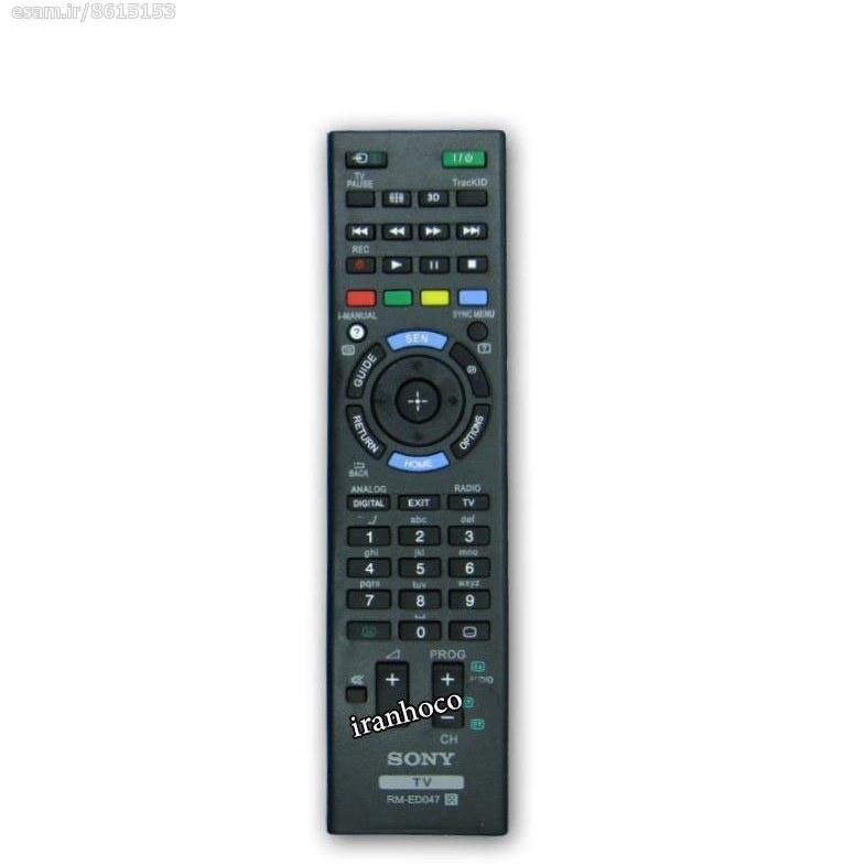کنترل تلویزیون ال ای دی LED سونی مدل RM-ED047  
