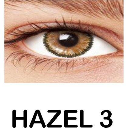 تصویر لنز رنگی چشم عسلی لاکی لوک مدل Hazel 3