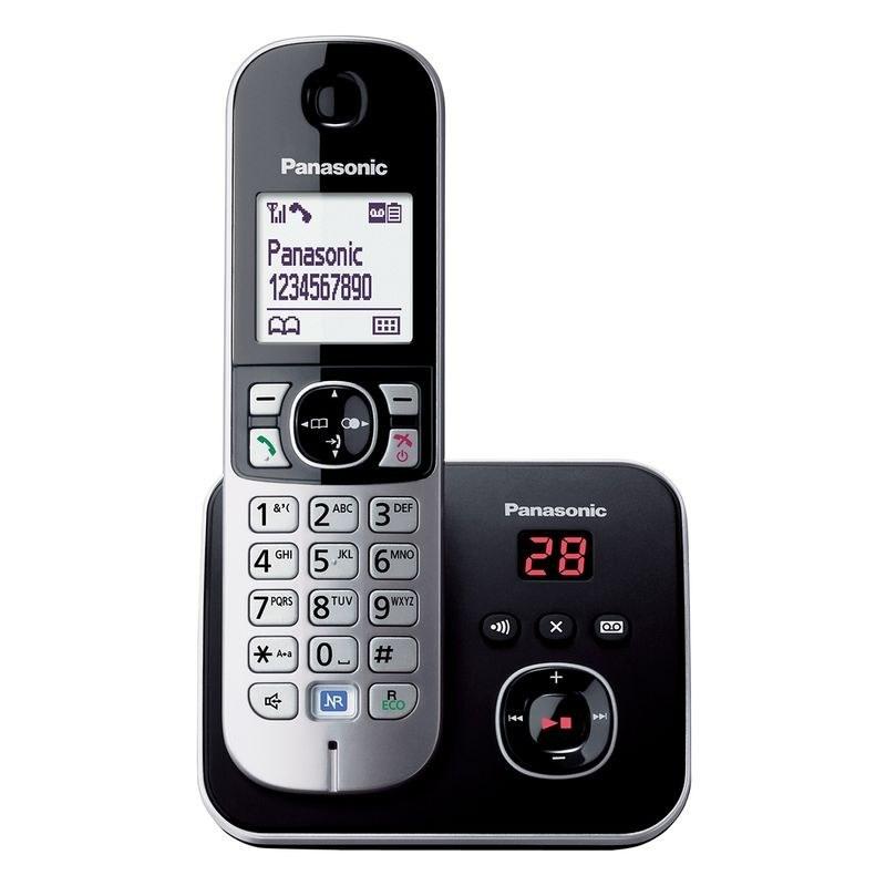 تصویر گوشی تلفن بی سيم پاناسونیک مدل KX-TG6821 Panasonic KX-TG6821BX Cordless Phone
