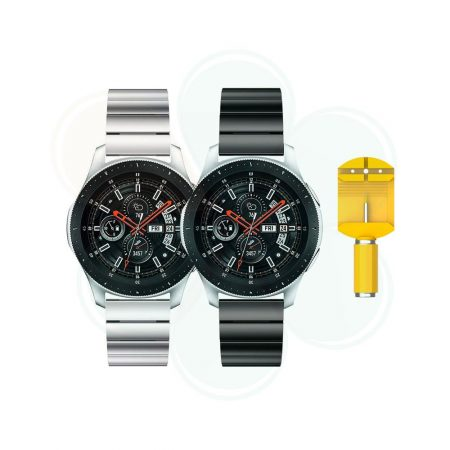 بند ساعت سامسونگ Galaxy Watch 46mm استیل One Bead | Samsung Galaxy watch 46mm SM-R800 One Bead Steel Band