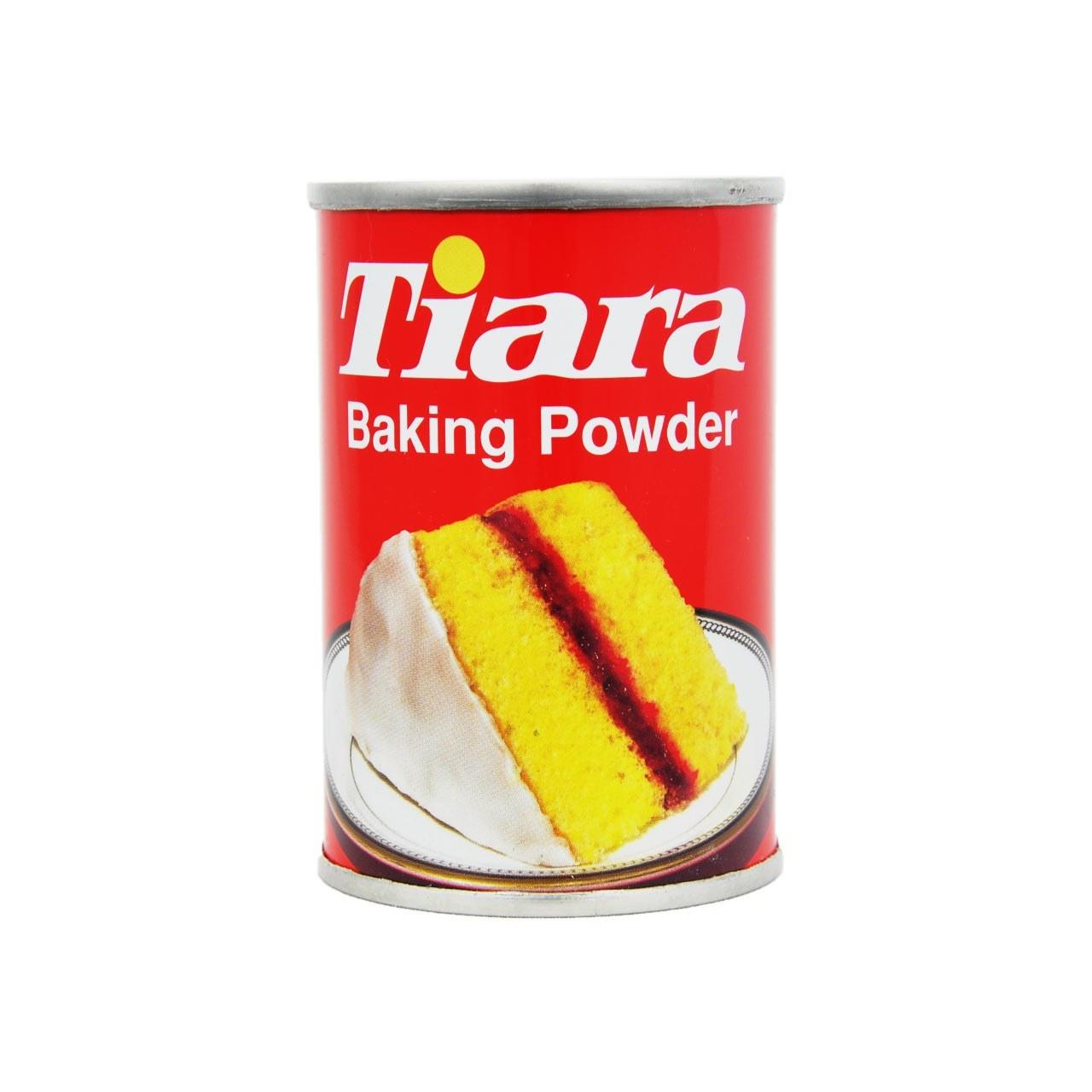 تصویر بیکینگ پودر تیاری 110گرم قوطی Tiara Baking Powder