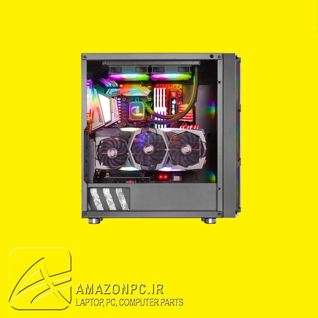 تصویر کیس کامپیوتر گرین مدل G6 کیس کامپیوتر گرین مدل G6