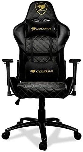 تصویر صندلی گیمینگ Cougar Armor One Royal Gaming Chair – Black Cougar Armor One Royal Gaming Chair - Black