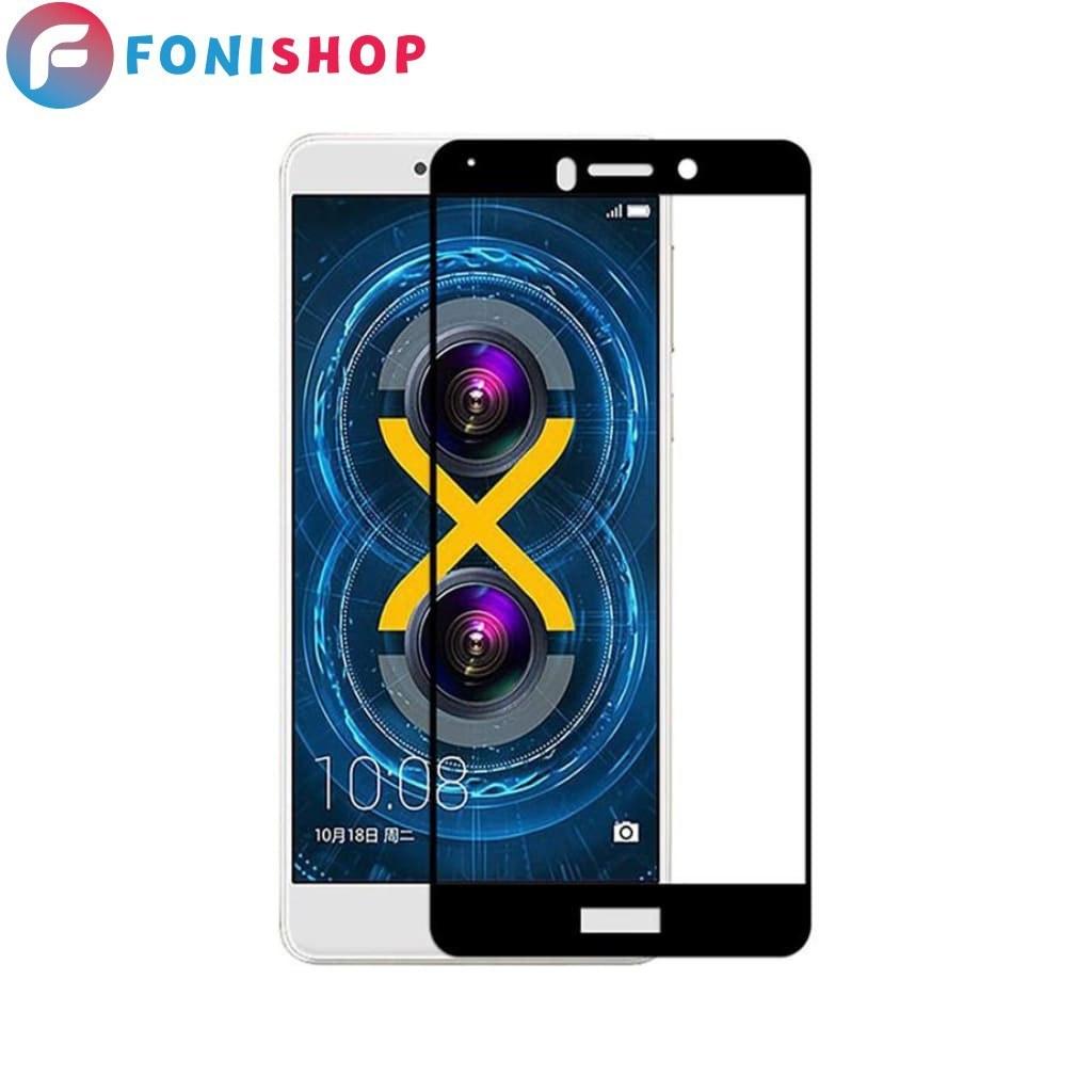 تصویر گلس محافظ صفحه نمایش فول تمام صفحه هواوی Huawei Honor 6X