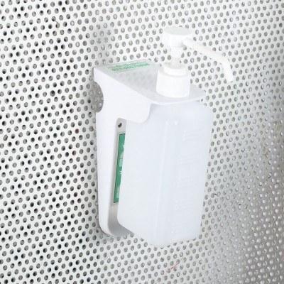 پایه دیواری بطری مواد ضد عفونی کننده F1
